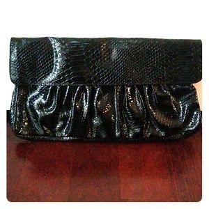 Handbags - NWOT Oversized Black Clutch